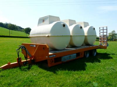 A delivery of Marsh treatment package plants